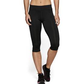 asics Silver Knee Tights Women, performance black